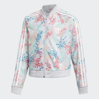 Cropped SST Track Track Top Multicolor / White EJ6299