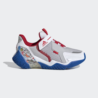 4UTURE Runner Shoes Cloud White / Scarlet / Glory Blue EH1817