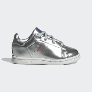 Stan Smith Shoes Silver Metallic / Silver Metallic / Crystal White FW8081