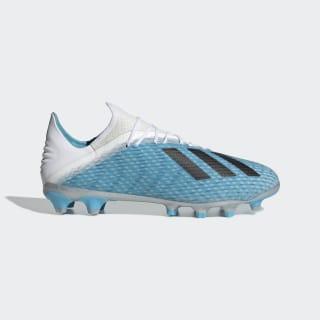 Bota de fútbol X 19.2 césped artificial Bright Cyan / Core Black / Shock Pink EF9111