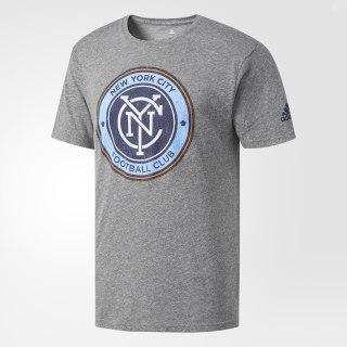 New York City FC Tri-Blend Tee Grey BF0777