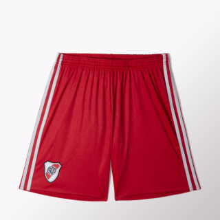 Shorts Visitante River Plate Réplica POWER RED/CLEAR ONIX BJ8908