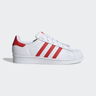 Кроссовки Superstar ftwr white / active red / core black CM8413
