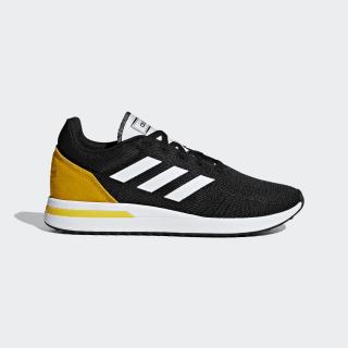 Zapatilla Run 70s core black / ftwr white / bold gold BD7961