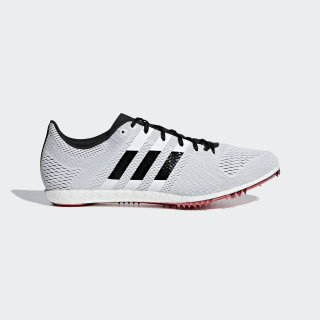 Adizero Avanti Spikes Beige / Core Black / Shock Red B37486