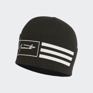 Y-3 Beanie 3-Stripes Black FH9284