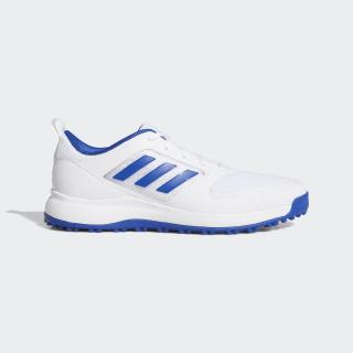 CP Traxion SL Golf Shoes Cloud White / Team Royal Blue / Silver Metallic EE9118