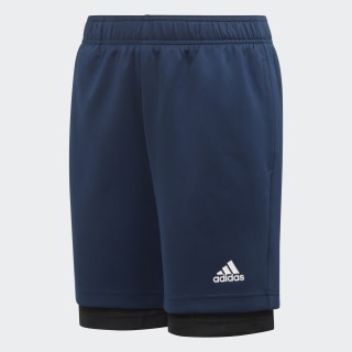 2-in-1 Mesh Shorts Collegiate Navy / Black / Active Gold ED5770