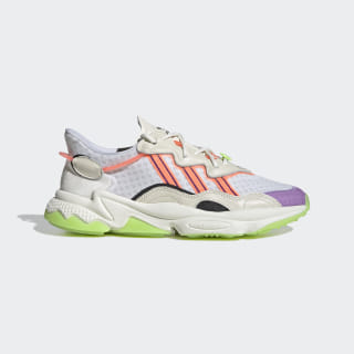 Кроссовки OZWEEGO Off White / Signal Green / Glory Purple FX3814