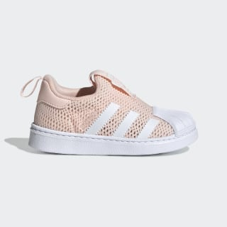 Superstar 360 Shoes Icey Pink / Cloud White / Cloud White EF9173