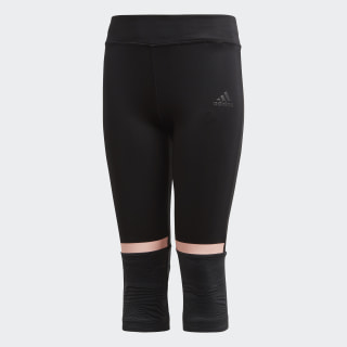 Training 3/4 Tights Black / Carbon / Clear Orange DJ1072