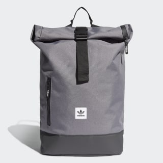 Premium Essentials Roll-Top Backpack Grey ED8065