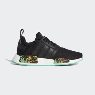 NMD_R1 Shoes Core Black / Hi-Res Green / Blue EF2797