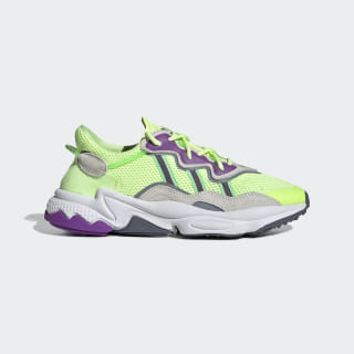 OZWEEGO Shoes Hi-Res Yellow / Orchid Tint / Shock Lime EE5720