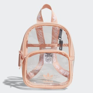 Clear Mini Backpack Light Pink CL6148