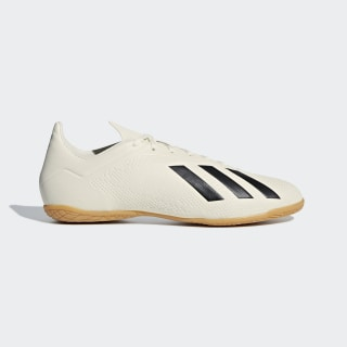 Chuteira X Tango 18.4 Futsal OFF WHITE/CORE BLACK/GOLD MET. DB2485