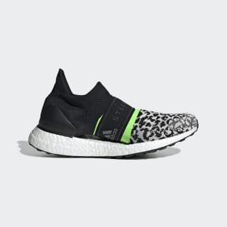 Ultraboost X 3D Knit Schuh Black-White / Core White / Solar Green G28336