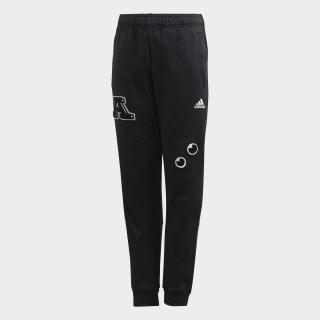 Pantaloni Collegiate Black / White FL2814