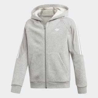 Hoodie Outline Medium Grey Heather / White ED7857