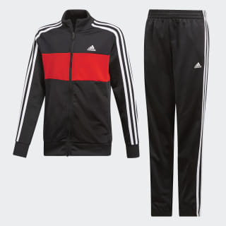 Chándal Tiberio Black / Active Red / White DV1745