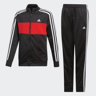 Sudadera Tiberio Black / Active Red / White DV1745