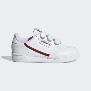 Zapatilla Continental 80 Cloud White / Cloud White / Scarlet EH3222