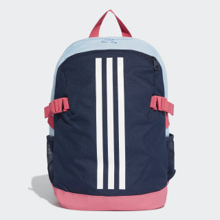 Power Backpack 4 Small Collegiate Navy / Glow Blue / White ED8613