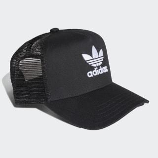 หมวกทรัคเกอร์ Trefoil Black EE1159