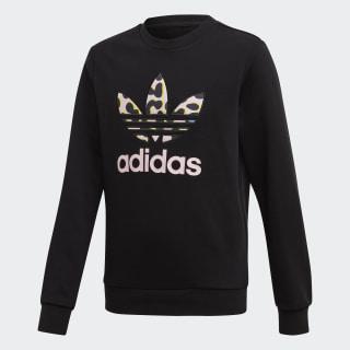 LZ Crew Sweatshirt Black / Multicolor / Clear Pink FM9989