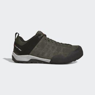 Five Tennie Guide Approach Shoes Dark Cargo / Core Black / Unity Orange D97813