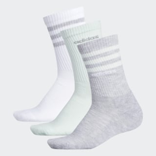 3-Stripes Crew Socks 3 Pairs Multicolor CK8352