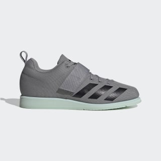 Powerlift 4 Schuh Grey Three / Core Black / Green Tint EF2980