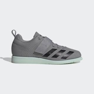 Powerlift 4 Shoes Grey Three / Core Black / Green Tint EF2980