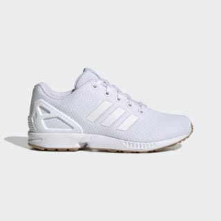 ZX Flux Shoes Cloud White / Cloud White / Cloud White EH3172