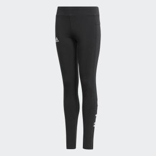Calças Justas Linear Essentials Black/White BP8585