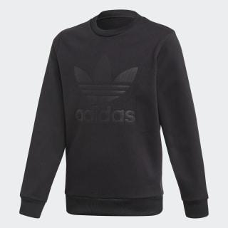Debossed Trefoil Sweatshirt Black EI7453