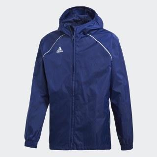 Core 18 Rain Jacket Dark Blue / White CV3742