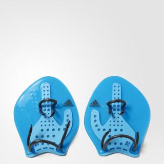 HAND PADDLE M SOLAR BLUE2 /BRIGHT CYAN/DARK GREY AZ8056