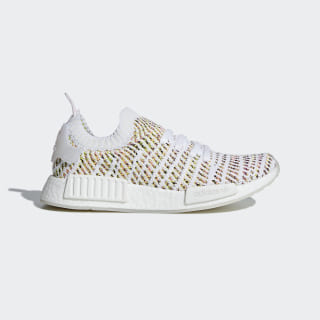 NMD_R1 STLT Primeknit Shoes Cloud White / Semi Solar Yellow / Solar Pink B43838