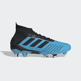 Predator 19.1 Soft Ground Boots Bright Cyan / Core Black / Solar Yellow F99988