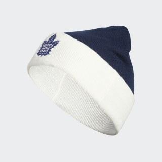 Maple Leafs Coach Cuffed Beanie Nhl-Tml-522 / Blue / White EK0817