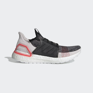 Ultraboost 19 Shoes Core Black / Orchid Tint / Active Red F35238