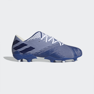 Botas de Futebol Nemeziz 19.2 – Piso firme Cloud White / Team Royal Blue / Team Royal Blue EG7222