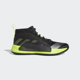 Dame 5 Star Wars Lightsaber Green Shoes Core Black / Signal Green / Semi Solar Slime EH2457