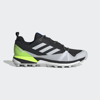 Terrex Skychaser LT Hiking Shoes Core Black / Dash Grey / Signal Green EF3303