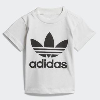 Camiseta Trefoil White / Black DV2828