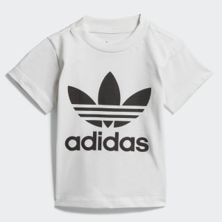 T-shirt Trefoil White / Black DV2828