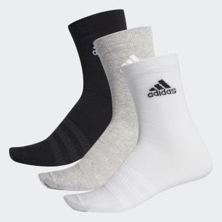 Три пары носков Crew medium grey heather / white / black DZ9392