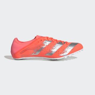 Zapatilla de atletismo Sprintstar Signal Coral / Silver Metallic / Cloud White EE4539