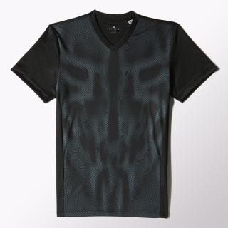 Camiseta de Fútbol F50 ClimaCool BLACK/SOLAR RED S09866